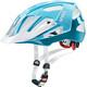 UVEX Quatro Cykelhjälm vit/turkos